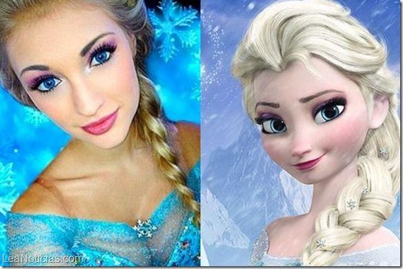 La joven idéntica a Elsa, de Frozen, vive su propio cuento de hadas - http://www.leanoticias.com/2014/12/01/la-joven-identica-a-elsa-de-frozen-vive-su-propio-cuento-de-hadas/
