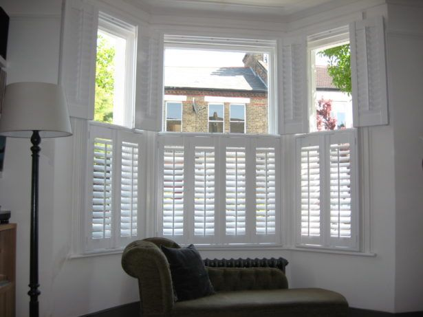 17 best ideas about indoor shutters on pinterest indoor - Discount interior plantation shutters ...