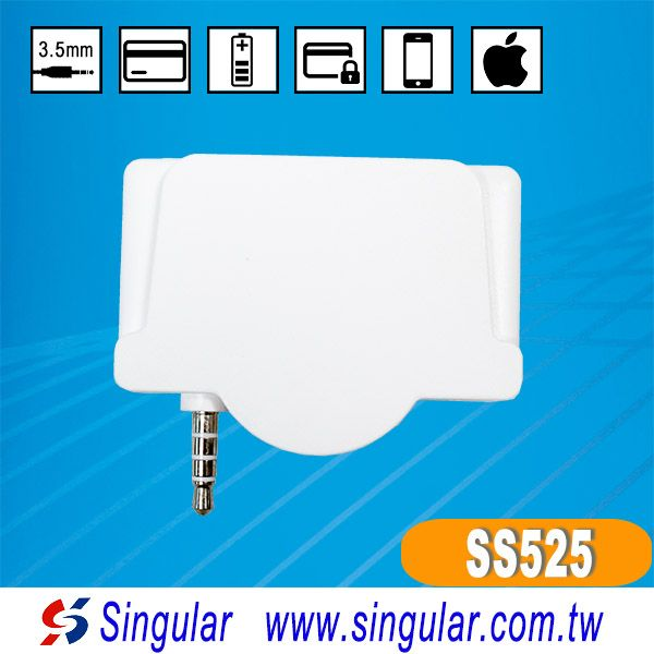 Mobile Magnetic Stripe Card Reader with IOS SDK software