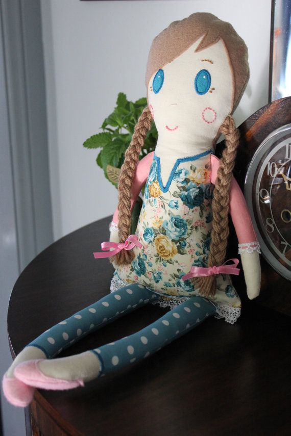Milly Doll by PuddleducklaneAgain on Etsy
