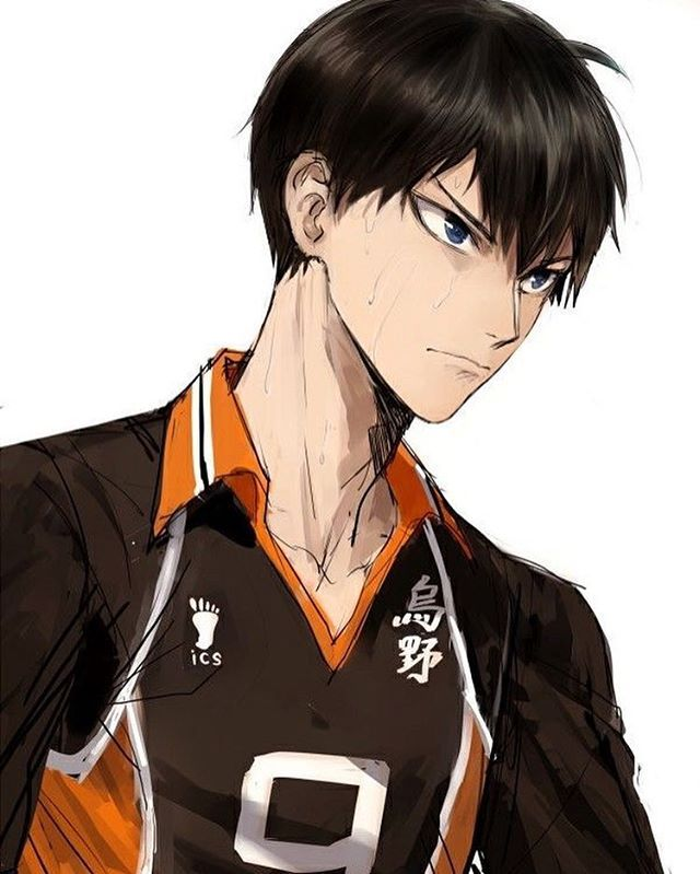 Kageyama is so precious im- • Credit: ????? • Anime: Haikyuu • • • #kageyama…