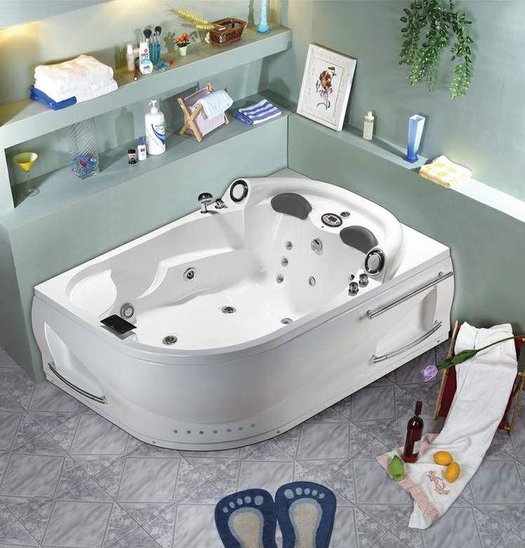 23 best Bathroom images on Pinterest Soaking tubs, Bathroom and - whirlpool badewanne designs jacuzzi