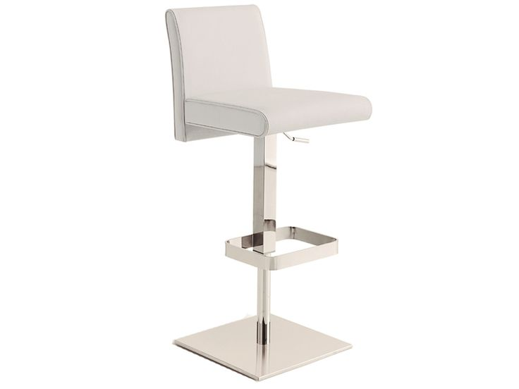 25 Best Ideas About White Leather Bar Stools On Pinterest