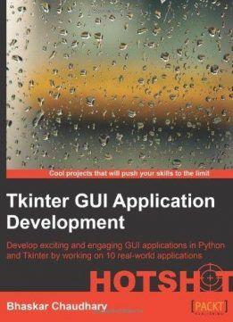 Tkinter GUI ApplicationDevelopment HOTSHOT download page