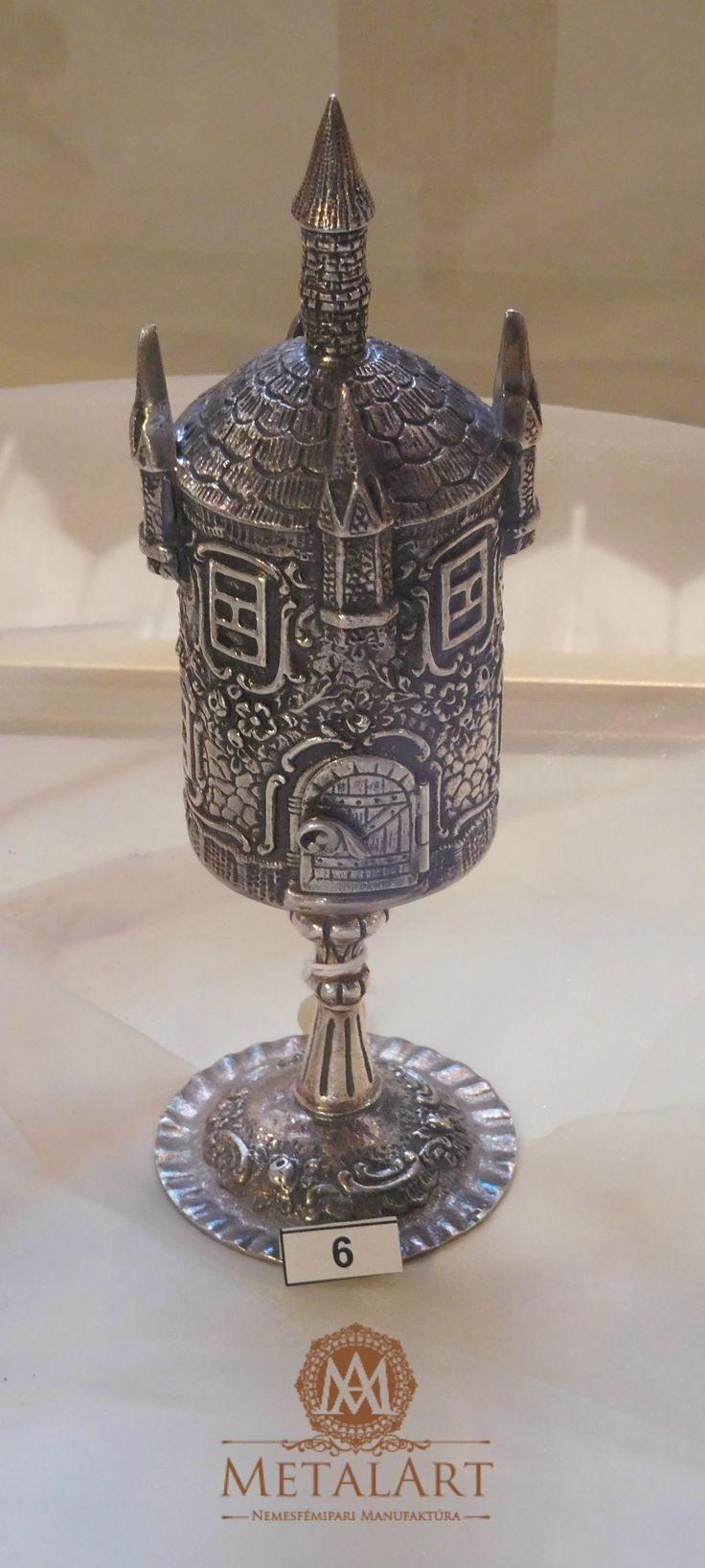 Judaica silver havdala sets, spice, castle #jewish #judaic #shop   contact us at: metalart@metalart.hu