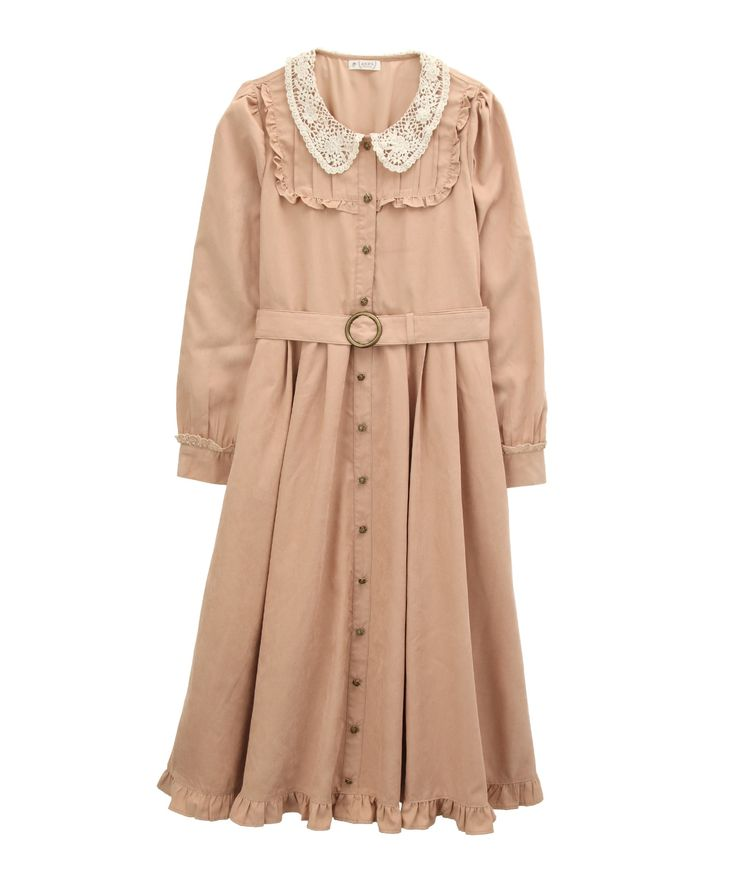 axes femme online shop|【OUTLET】【Web限定】レース襟付きロングワンピース