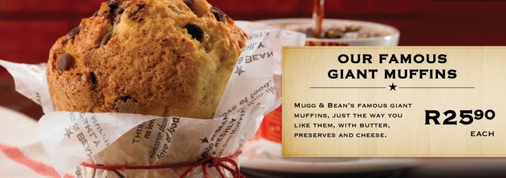Mugg & Bean - Giving You More and More
