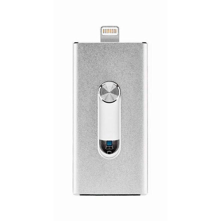 USB-флешка Binchu FlashDrive 32GB Silver для iPhone/iPad/iPod