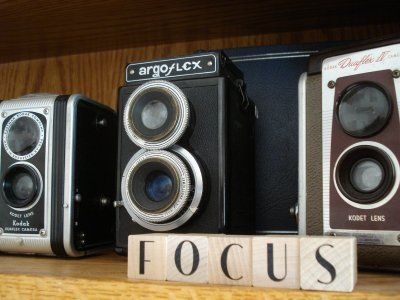 Ingenuity On Display: Ideas for Vintage Cameras Part 2