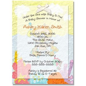 Attractive Find This Pin And More On Baby Shower Water Theme By Lisalombo. Invitation  Idea