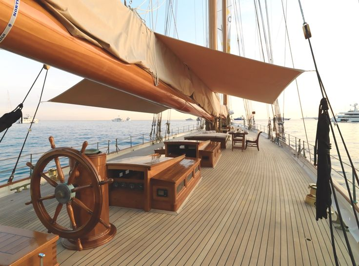 S/Y Elena, built in 2009, is the meticulously designed replica of a 1928 racing schooner which participated in the 1928 King's Cup Trans-Atlantic Race, from New York to Santander, in record-breaking style.