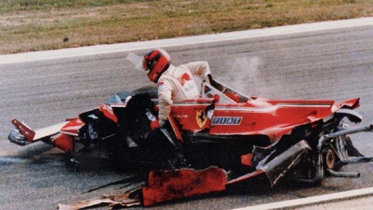 Gilles Villenueve 1980 Ferrari