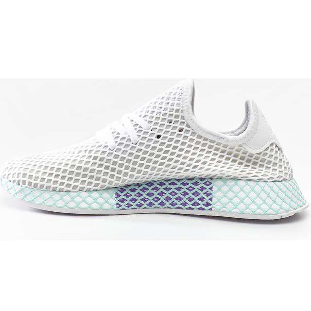 Sportowe Damskie Adidas Adidas Deerupt Runner W Footwear White Grey One Clear Mint White Sneaker Footwear Sneakers Nike