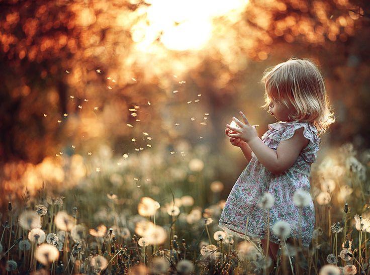 little girl in her own world:)