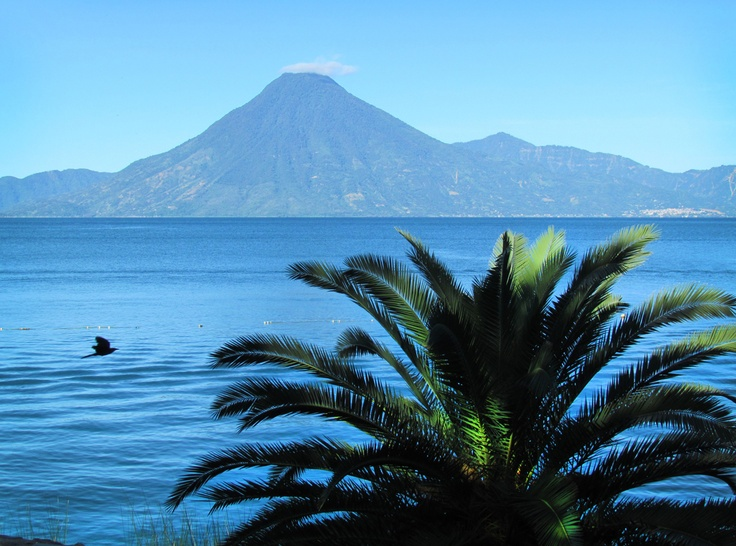 If you want to take a break spend some time looking at the volcanos around the Atitlan Lake in Guatemala