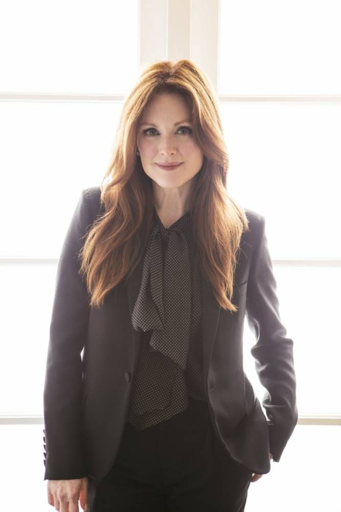 Julianne Moore's latest film, Non-Stop, could well describe her work schedule. I've been busy, she says