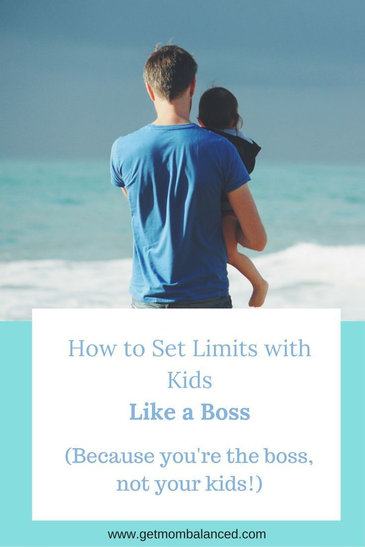 Learn how to set limits with your kids with love and consistency. Boundaries are so important for kids and parents. Read now or pin for later.