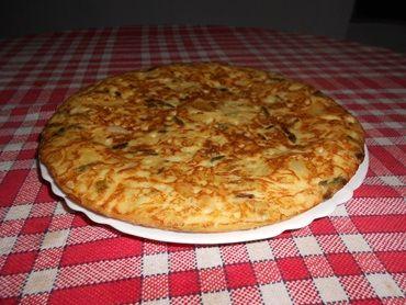 Receita de Tortilha de batata espanhola - Tudo Gostoso
