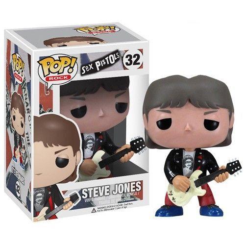 Rocks Pop! Vinyl Figure Steve Jones [Sex Pistols]