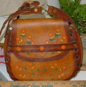 Bohemian Vintage: Bohemian Wednesday - 11.11.09 - Mexican Tooled Purses