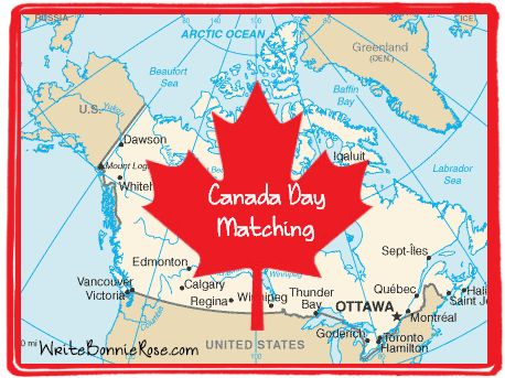 Canada Day Canadian Capitals Matching Worksheet