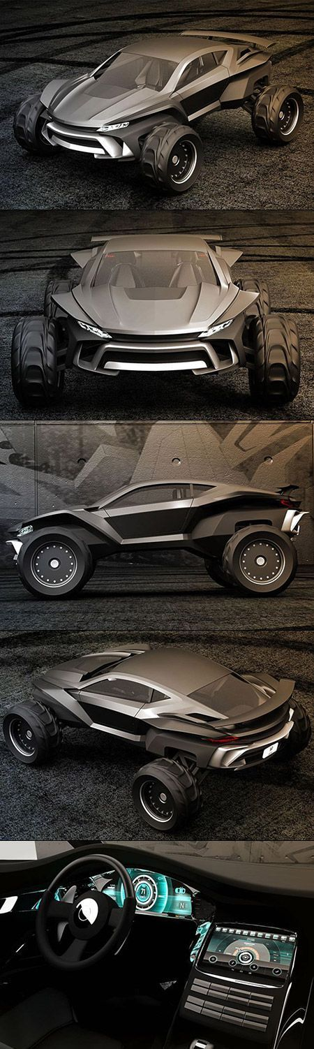 Gray Design is looking to end the debate, creating what could be the absolute best vehicle for the zombie apocalypse. Meet the Sidewinder, an insane dune buggy designed for whatever you can throw at it. The project was spearheaded by the folks at Grey Design, who chose an LSX Bowtie big block engine as the power plant. The end result is a setup that pumps out 630 horsepower and 442 lb-ft of torque, helping this beast sprint to 60 mph in just 4.2 seconds, with a top speed of 93mph.: