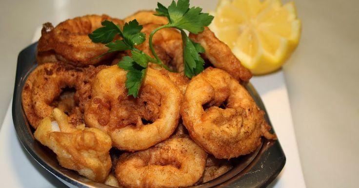 >Que bons són els calamars a la romana quan el calamar es fresc i la romana està ben feta, eh?.  I es que  res tenen a veure els calamars a...
