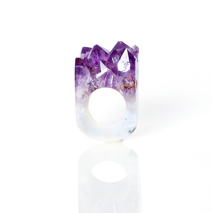 One-Of-A-Kind Amethyst Ring  by Dara Ettinger: Dara Ettinger, One Of A Kind Amethyst, Amethyst Rings