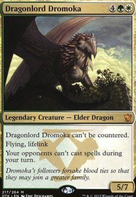 Dragons of Tarkir: Dragonlord Dromoka
