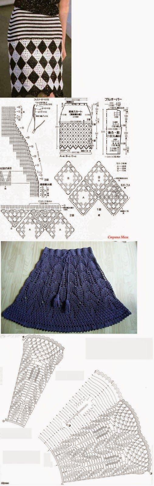 Mejores 148 imágenes de Faldas en Pinterest