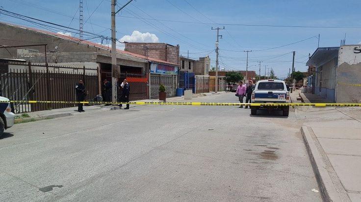 <p>Chihuahua, Chih.- Sujetos armados ingresaron a un taller de lavadoras ubicado en el cruce de la calle Leona Vicario y calle Frente de colonias populares