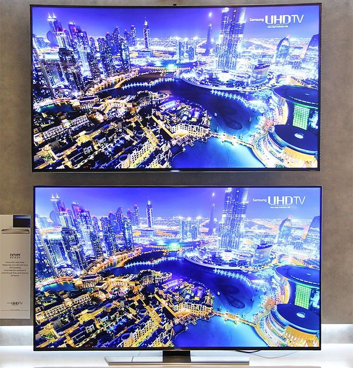 Ultimate Curved TV vs. Flat Screen TV Guide. Viewing Angle, Distortion, and Cost / Benefit. Covers Best Curved & Flat Screen 4k TVs from Samsung, LG, Sony.