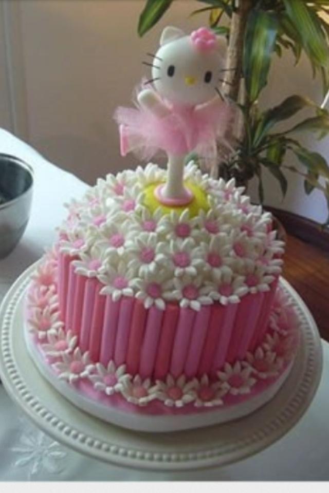 Hello Kitty Ballerina Cake Abigail Hello Kitty