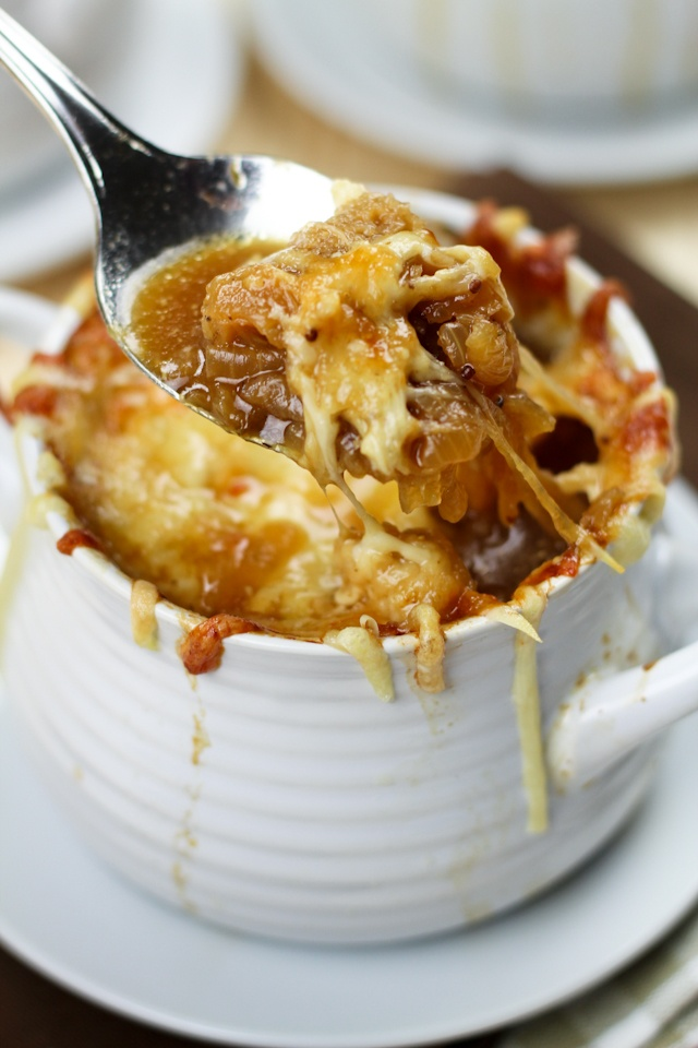 Lighter and Delicious French Onion Soup