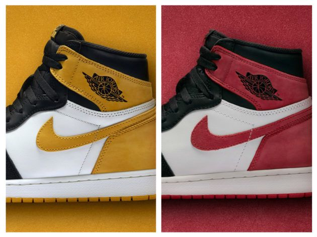 The Air Jordan 1 Retro High OG Yellow Ochre And Track Red Releases Have  Been Postponed 5f8f8d11f