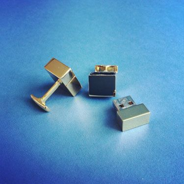 USB Cuff links  Get the tech nerd a pair of cuff links that do double-duty. These store 2GB of data and come in three different colors Kevin