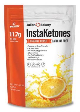 InstaKetones® Caffeine Free Orange Burst (30 Servings) – Julian Bakery
