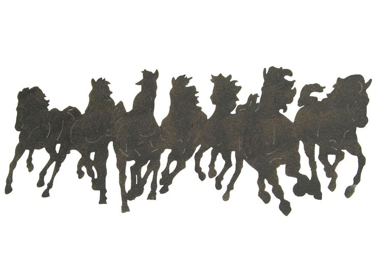 1000 Images About Horse Silhouettes On Pinterest