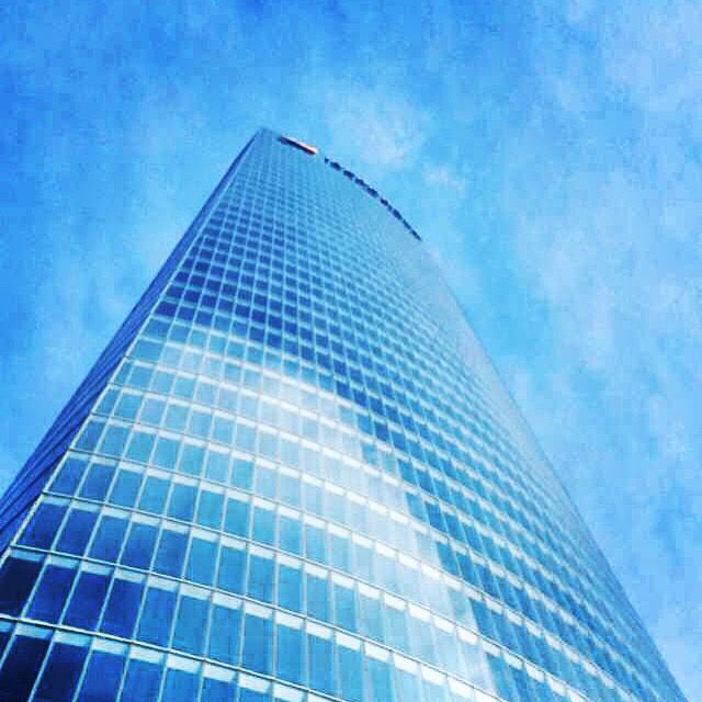 #Bilbao #Azul #Iberdrola #Cristal #Edificio