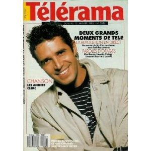 Télérama - n°2086 - 03/01/1990 - Les années Julien Clerc [magazine mis en vente par Presse-Mémoire]