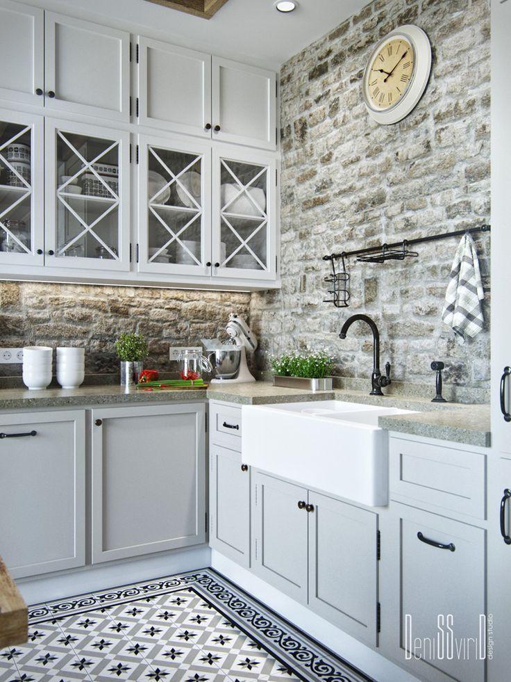 Kitchen LoftoProvans =) auf Behance – #auf #backsplash #Behance #Kitchen #LoftoP …   – Kochen