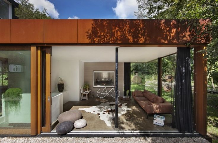Santpoort Rail House by Zecc Architects and ZW6 Interior | HomeDSGN, a daily source for inspiration and fresh ideas on interior design and home decoration.