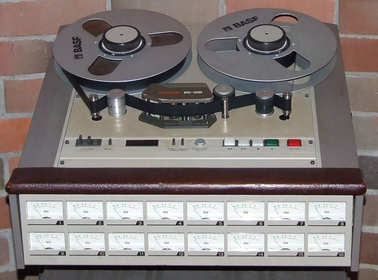 8 track tape recording in stereo - Richard Kraus. 1960s.