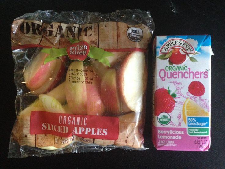 Yummy Organic Apples & Apple & Eve Quenchers make a great afternoon snack or lunchbox addition. #QuenchersAdventures #contest
