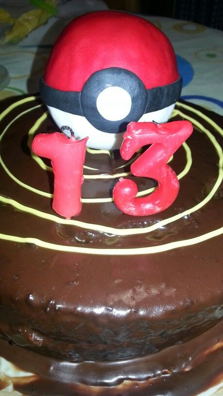 Tarta pokeball