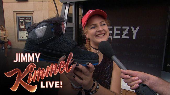 http://SneakersCartel.com Jimmy Kimmel Pranks Fans with Fake Yeezy 2000 #sneakers #shoes #kicks #jordan #lebron #nba #nike #adidas #reebok #airjordan #sneakerhead #fashion #sneakerscartel