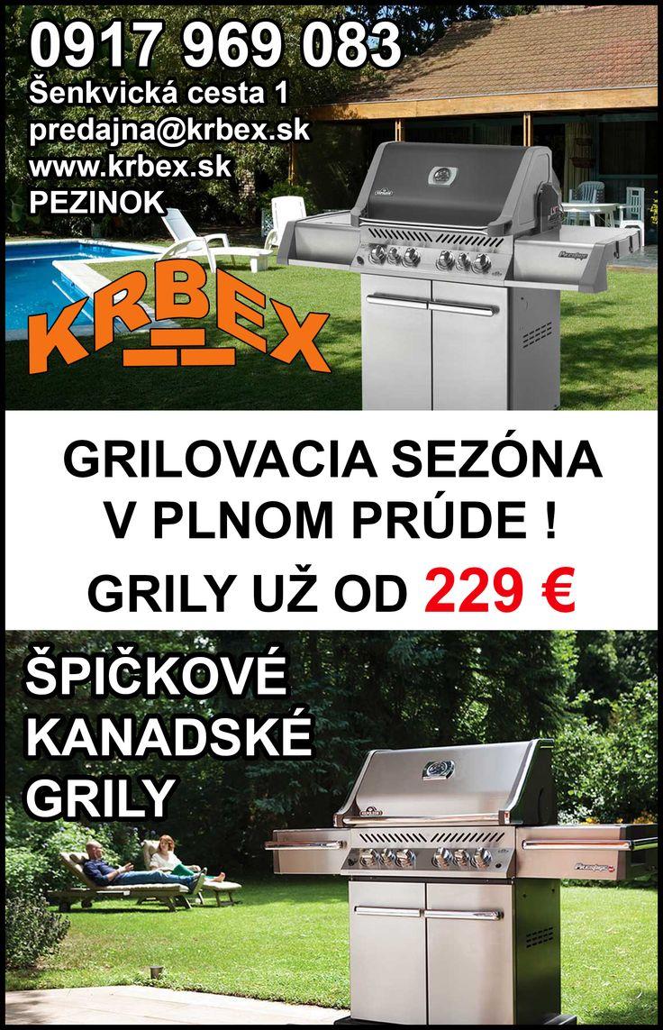 #krbex #pezinok #krby #grily #napoleon #cena