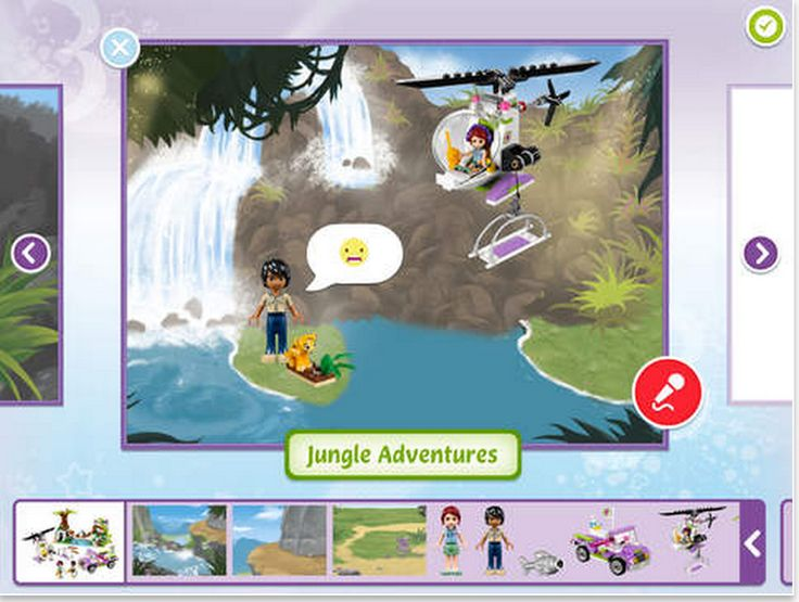 Lego Story Maker- A Great Digital Storytelling FREE App for kids ~this is a fabulous way to get students interested in story writing.  It lets you chose from hundreds of characters AND you can add speech bubbles etc!  Brilliant!