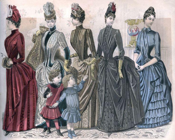 Interior&Decor: Картинки для декупажа. Викторианская мода. Peterson's Magazine, 1888