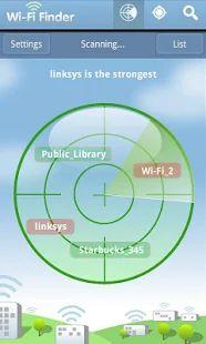 WiFi Finder – képernyőfelvétel indexképe